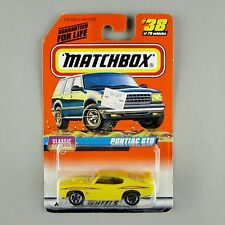 "Matchbox '70 PONTIAC GTO ""The Judge"" 1998 Classic Decades #38"