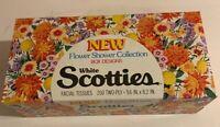 Vintage 1977 Scotties Flower Power Tissue Box 200 Kleenex Scott Paper Unopened
