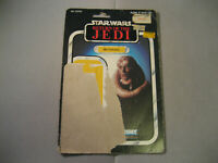 Vintage Star Wars ROTJ 1983 Card Back  Bib Fortuna 65 Cardback