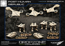 Hawk Wargames Dropzone Commander BNIB - PHR starter army (Plastic)