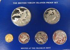 1978 British Virgin Islands 6 Coin Proof Set Box & COA   ** FREE U.S SHIPPING **