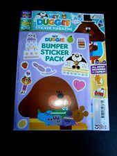 Hey Duggee Sticker Magazine With Bumper Sticker Pack (new)