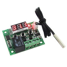 DC 12V Temperaturregelung Thermostat Schalter Regler Thermometer mit LED Sensor