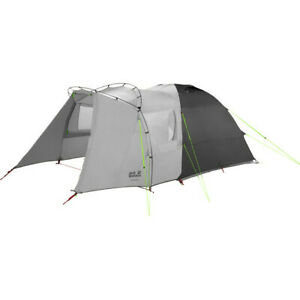 Jack Wolfskin Grand Illusion IV tent, 4-person, slate gray,free ship Worldwide