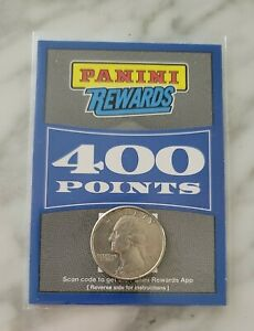 Panini Rewards Points 400 Unclaimed Points!! Brand New