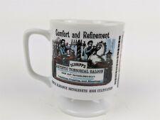 New listing Early America Theme Pedestal Mug Cup