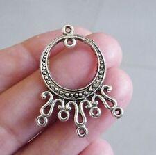 10Pcs Chandelier Earring Findings 5 Hole Necklace Connector Pendants Components
