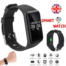 Smart Watch Sports Wrist Watch For iPhone Android Mobiles Blood Pressure Alarm