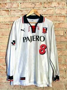 Urawa Reds 2002 Puma Away Finta #8 Toshiyuki Abe Matchworn rare