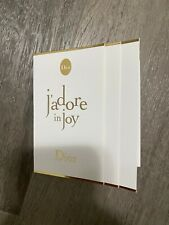 3 X J'adore in Joy by Christian Dior Eau De Toilette for Women 1ml Sample New