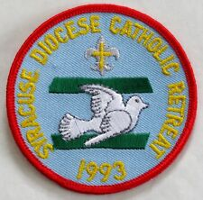 Harrisburg Diocese 2008 Scout Retreat Pocket Patch  BSA PA