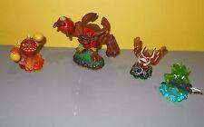 Activision Skylanders Trigger Happy Gill Grunt Eruptor Tree Rex Figures