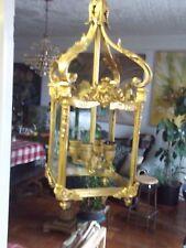 french style bronze lantern chandelier foyer haa ceiling fixture
