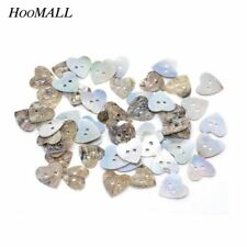 100PCs corazón Shell Botones para ropa decorativa botones para Costura handma