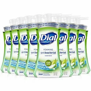 Dial Complete Foaming Hand Soap, Fresh Pear, 7.5 oz Each 8 Pack