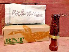 RNT Calls Rich N Tone Microhen Single Reed Mallard Duck Call-Hunting-Bocote Wood