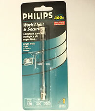 PHILIPS 300W Watt HALOGEN Work Flood Floor Lamp Light BULB 120V RSC T3 118mm