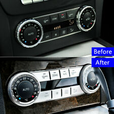 Console Air Conditioner Button Cover Trim For Mercedes Benz C Class W204 2007-14