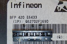 50pcs BFP420  TRANSISTOR RF 25GHz 160mW 4,5V SOT343 NPN INFINEON