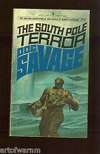DOC SAVAGE # 77  SOUTH POLE TERROR   -  Kenneth Robeson , Bantam   SB  VG