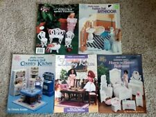 5 Plastic Canvas Fashion Doll Furniture Patterns