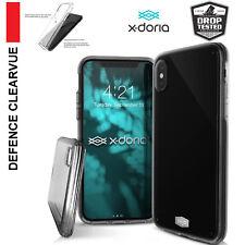 X-doria iPhone X Case, Xdoria ClearVue Case Cover For Apple iPhone X -Smokey BLK