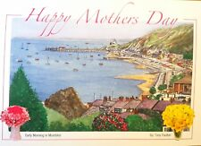 Early morning in Mumbles - Mother's Day Card - Tony Paultyn