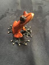 Frogman Tim Cotterill Bronze Frog Bashful SOLD OUT