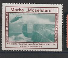 German Poster Stamp Airship Rare