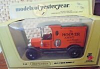 MATCHBOX MODELS OF YESTERYEAR - Y-12 1912 FORD MODEL T - HOOVER