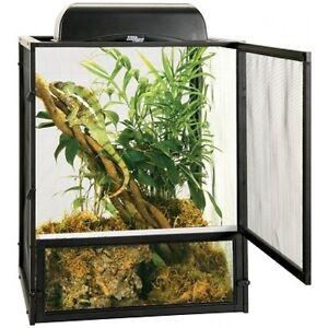 Iguana Chameleon Lizards Geckos Cage Open Air Aluminum Raising Screen Large Door