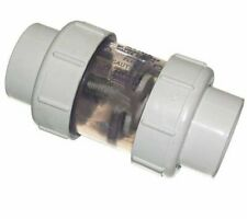 Coleman Spa 2 Inch Pvc 1/2 Lb Spring Check Valve With Unions 102988