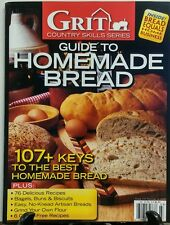 Grit Country Skill Series Guide to Homemade Bread 2016 Bagels FREE SHIPPING sb