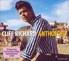 CLIFF RICHARD - ANTHOLOGY (NEW SEALED 3CD SET)