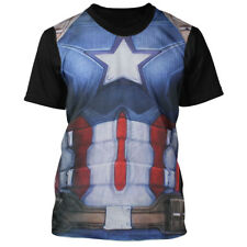 Capitán América t-shirt-armour Costume