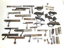 Vintage Gun Parts Lot Rifle Bolts Mauser 22 12 Gauge Slides Trigger Guards +++