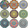 Mandala 5D DIY Special Shaped Drill Diamond Painting Cross Stitch Mosaic Kits UK