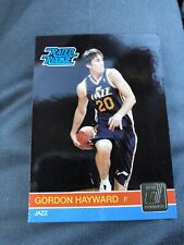 2010-11 Donruss Rated Rookie Gordon Hayward #236 RC Jazz Celtics