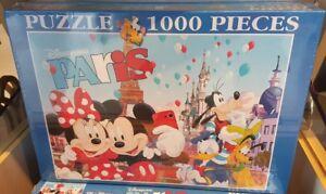 PUZZLE 1000 PIECES PARIS 7 Disneyland Paris