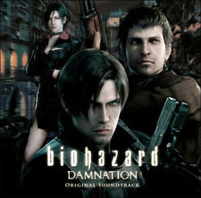 Resident Evil Biohazard DAMNATION SOUNDTRACK CD zum Film NEU
