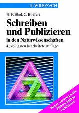 Schreiben und Publizieren in den Naturwissenschaften (German Edition)-ExLibrary