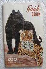 1954 Brookfield Zoo Guide Book, Chicago Zoological Park