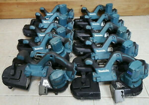 (one) MAKITA XBP01Z 18V CORDLESS COMPACT BAND SAW - TOOL ONLY