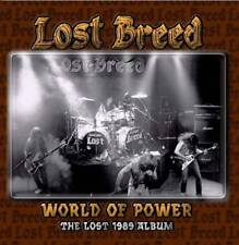 LOST BREED- World Of Power-The Lost 1989 Album CD ovp ss DOOM ala THE OBSESSED