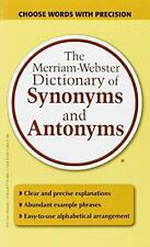 The Merriam-Webster Dictionary of Synonyms and Antonyms...New  Free Shipping