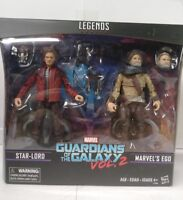 Marvels Legends Series Guardians of the Galaxy Vol 2. Star-Lord and Marvel's Ego