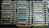 NES games (Nintendo NES) Tested CLEANED AND WORKING