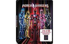Saban's Power Rangers Steelbook Plus Graphic Novel Blu-ray dvd digital 6/27