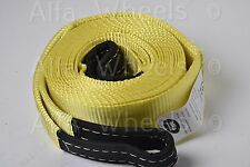 """Y2 3"""" 20000 lbs auto car SUV Tow Strap rope 20 ft winch off-road snatch recovery"""