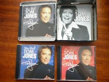 TOM JONES YOURS TRULY CD BOX SET IN COLLECT0RS TIN 3 DISC